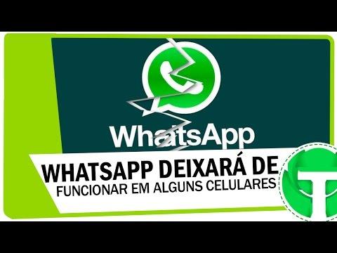 WhatsApp deixará de funcionar em alguns celulares, veja se o seu é afetado!