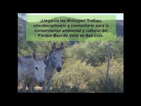 Conservación ambiental y cultural del Parque Bajo de Véliz en San Luis