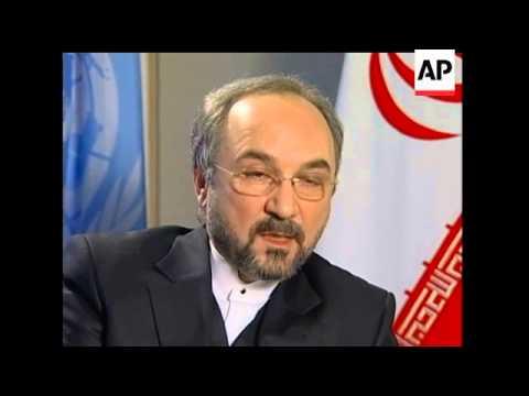 Mohammad Khazee, Iran's U.N. Ambassador, accused a group on the U.S. terror blacklist on Monday of f