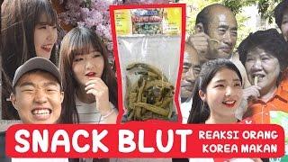 Download Lagu Reaksi Orang KOREA Makan Snack BELUT!! | COWOK KOREA Gratis STAFABAND