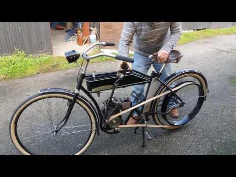 rower z silnikiem Briggsa