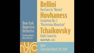 "New York Repertory Orchestra - Hovhaness: Symphony No 2 ""Mysterious Mountain,"" Movement 2"