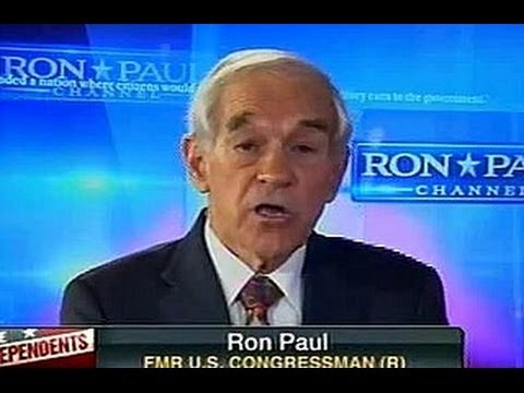 Ron Paul Defends Russian Invasion Of Crimea
