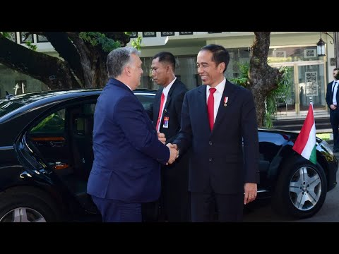 Presiden Jokowi Terima Kunjungan Kehormatan PM Hungaria, Istana Merdeka, 23 Januari 2020