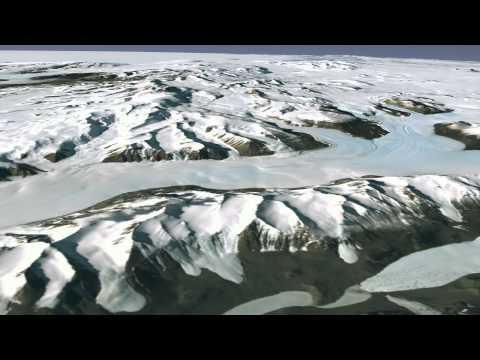 Excellent View of Antarctica Using Satellite Imagery   NASA Landsat USGS NSF HD Video