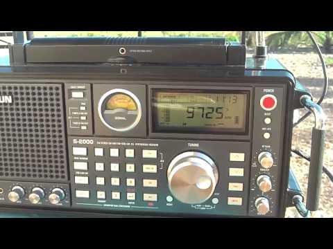 9725 khz Radio RB2 , Curitiba , Paranà , Brazil