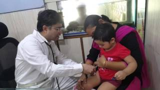 Vaccination center for  Painless Vaccination Technique for Children