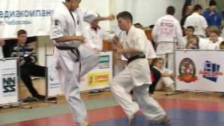 Кёкусинкай кумитэ - Tournament of kekusinkay kumite2008 (promo)_by St A M