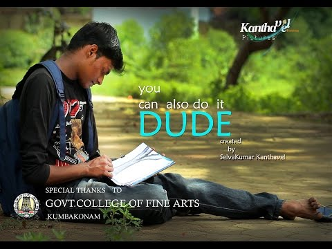 """you can also do it DUDE!;;720p( """"Celebrate Inclusion; Celebrate Life!"""")tamil short fim"""