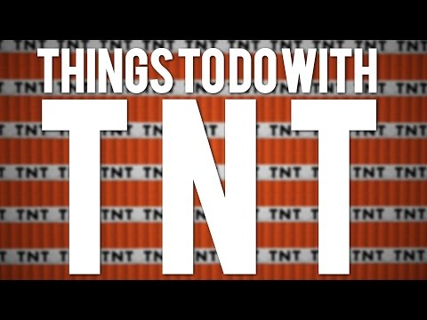 Minecraft: 10 Fun Things To Do With TNT!