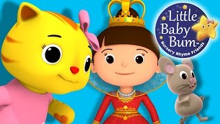Pussy Cat Pussy Cat | Nursery Rhymes | By LittleBabyBum! | ABCs and 123s