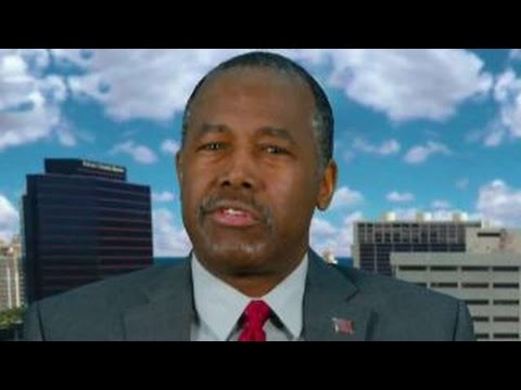 Ben Carson reacts to GOP push for third party candidate