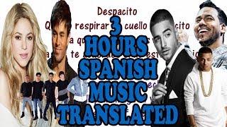download musica 3 HOURS of Spanish Songs with & English Translations - Shakira Enrique Maluma Ozuna CNCO