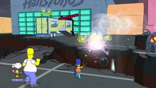 The Simpsons Game (Xbox 360) ~ Level 9: Invasion of the Yokel-Snatchers (Collectables)