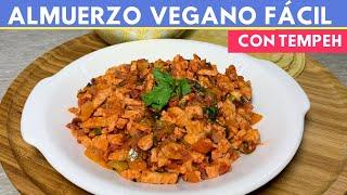 Almuerzo SIN carne fácil (cómo cocinar Tempeh) |Cocina de Addy  Ideal para Diabetes y Menopausia