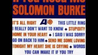 Solomon Burke - If you need me (full album)