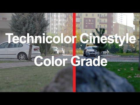Color Correction/Grade(Technicolor CineStyle) 700D