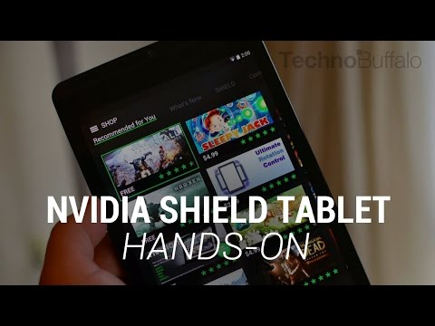 NVIDIA SHIELD Tablet Hands-On - A Gamer's Dream Tablet!