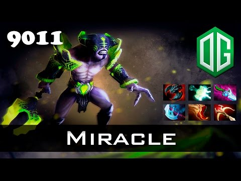 Miracle Faceless Void - 9011 MMR OG Dota 2