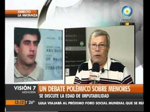 Visión Siete: Un debate polémico sobre menores
