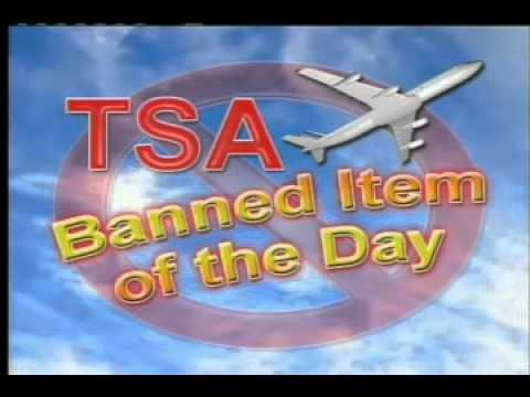 TSA Banned Item of the Day  Booze