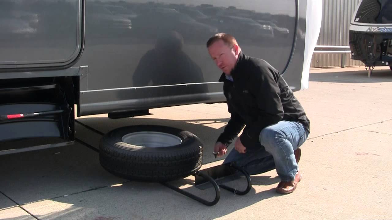 BAL Hide-A-Spare Eliminates Unsightly Spare Tire from ...