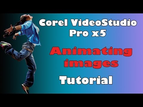 Corel VideoStudio Pro x5. animating images