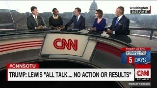 Nina Turner: Trump tweets on John Lewis