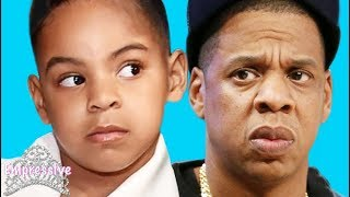 Blue Ivy checked Jay-Z for hurting her feelings. Don't mess with Blue!