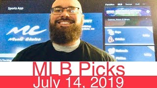 MLB Picks (7-14-19) | Part 1 of 2 | Major League Baseball Expert Predictions | Vegas Lines & Odds