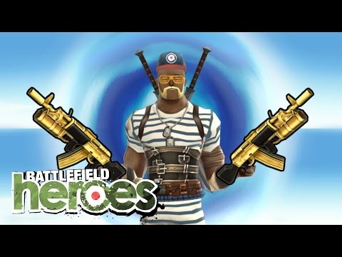 WHERE THE GOLDEN WEAPONS AT? | Battlefield Heroes