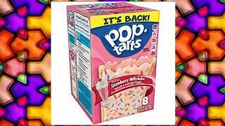 Strawberry milkshake pop tart review
