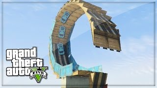 GTA 5 Funny Moments Crazy Slingshot Loop! - GTA V PS4 Gameplay - (GTA 5 Online Funny Moments)