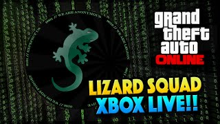 GTA 5 Online Lizard Squad ATTACKING Xbox Live Christmas Day! (GTA 5 Gameplay)