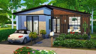 PHOTOGRAPHER'S FIRST HOME 📸   The Sims 4   Speed Build