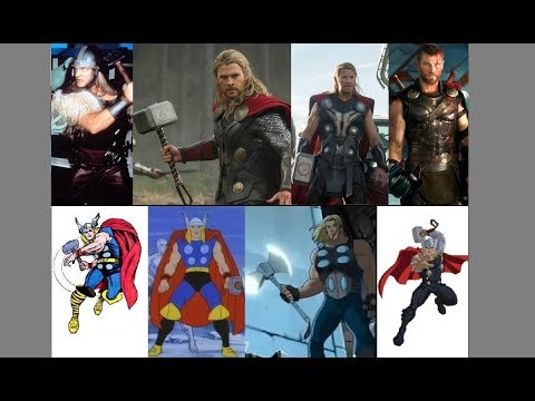 Thor - Evolution in TV & Movies