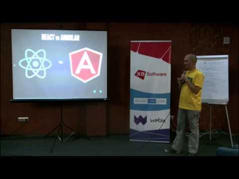ReactJS- быстрые JavaScript интерфейсы   Максим Кожух (xbSoftware)