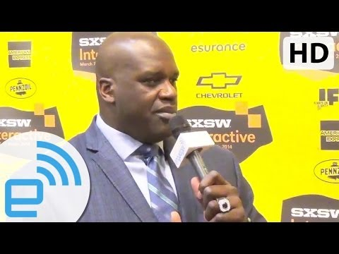 Shaq chats gadgets and tech | Engadget at SXSW 2014
