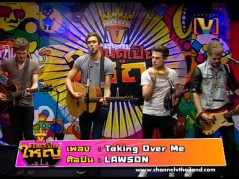 Live : Taking Over Me - Lawson video