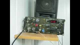 Demonstration: Watkins Johnson WJ-8640-3 VHF Military Receiver