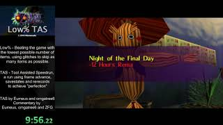 Majora's Mask Low% TAS in 1:54:42 [commentated] by Eumeus and omgatree6