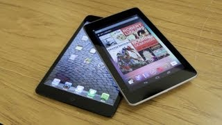 Tablet Wars! iPad Mini vs Nexus 7 - Which Should You Buy?