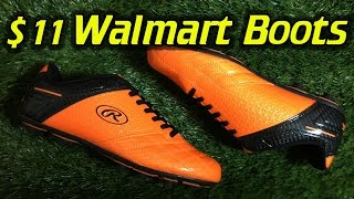 $11 Walmart Soccer Cleats/Football Boots - Review + On Feet