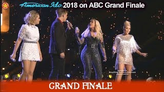 "Download Lagu Bebe Rexha ""Meant To Be"" with Maddie Poppe Gabby Barrett Caleb Lee Hutchinson American Idol  Finale Gratis STAFABAND"