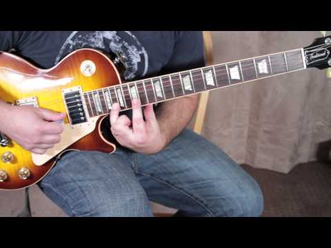 Lynyrd Skynyrd Inspired Guitar Solo Lesson - Lead Guitar Lessons Blues Rock