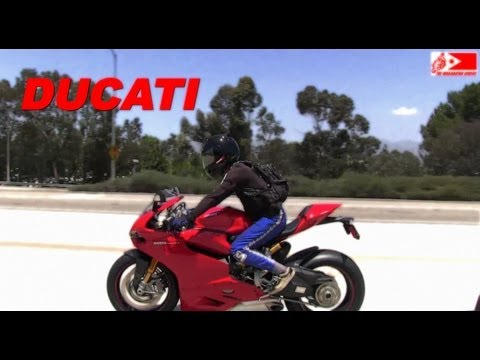 2013 DUCATI 1199 S PANIGALE spotted on the Freeway/Highway of California