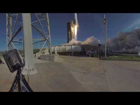 A 360 Look at the Launch of TDRS M
