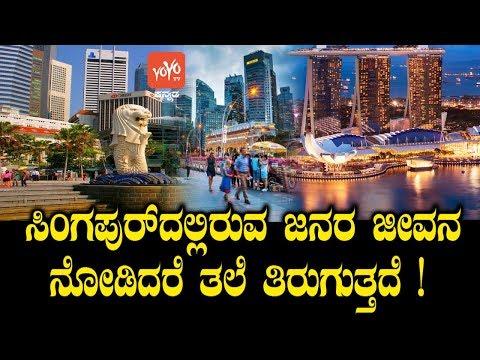 ಸಿಂಗಪುರ್ದಲ್ಲಿರುವ ಜನರ ಜೀವನ ನೋಡಿದರೆ ತಲೆ ತಿರುಗುತ್ತದೆ ! | Singapore Lifestyle Kannada | YOYO TV Kannada