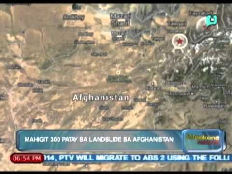 [The Weekend News] Globalita: Mahigit 300 patay sa landslide sa Afghanistan [05|03|14]