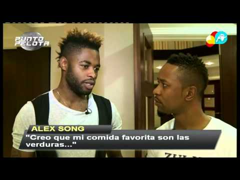 Punto Pelota descubre a Alex Song